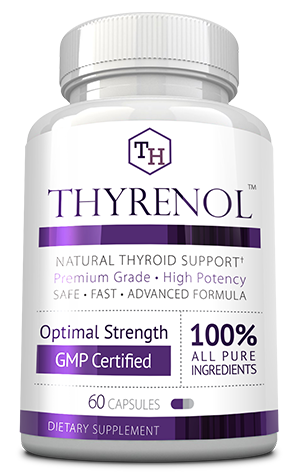 Thyrenol ingredients bottle